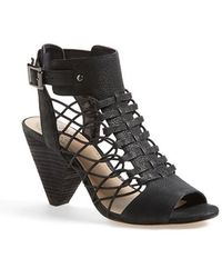 Vince Camuto Women'S 'Evel' Leather Sandal - Lyst