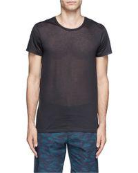 Acne Studios 'Standard O' Slub Cotton T-Shirt - Lyst