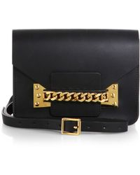 Sophie Hulme Chain Envelope Shoulder Bag - Lyst
