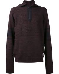 Wood Wood Roll Neck Sweater - Lyst