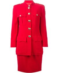 Moschino Two-piece Suit with A Skirt - Lyst