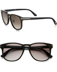 Tom Ford Dimitry 55mm Plastic Sunglasses - Lyst