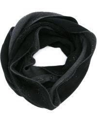 Label Under Construction - Frayed Collar Scarf - Lyst