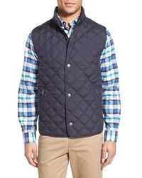 Brooks Brothers - Diamond Quilted Vest - Lyst