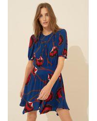 Ba&sh Dress Leo - Blue