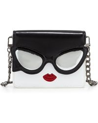 Alice + Olivia Stacy Face Mini Clee Shoulder Bag - Lyst