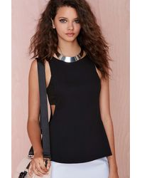 Nasty Gal Side Step Tank - Lyst