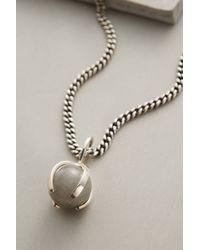 Maniamania - Palantir Pendant Necklace - Lyst
