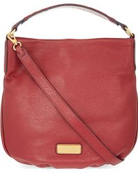 Marc By Marc Jacobs New Q Leather Hobo Bag - For Women - Lyst
