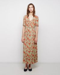 Étoile Isabel Marant Shania Floral Wrap Dress multicolor - Lyst