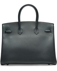 Heritage Auctions Special Collection Hermes 35cm Blue Obscure Togo Birkin - Lyst