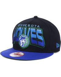 New Era Minnesota Timberwolves Nba Hardwood Classics 9fifty Snapback Cap - Lyst