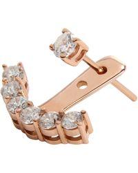 Anita Ko Diamond Ear Jacket Diamond Ear Jacket - Lyst