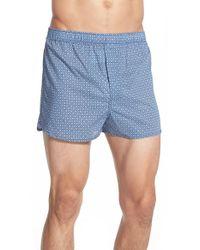 Derek Rose | 'dixie' Geometric Cotton Boxers | Lyst