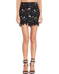 Stone Cold Fox Black Ohio Skirt - Lyst