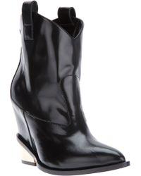 Giuseppe Zanotti Western Style Boots - Lyst