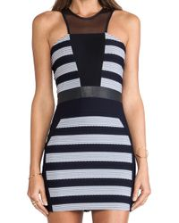 Lapina By David Helwani B Tamara Dress - Lyst