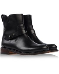 Rag & Bone Black Ankle Boots - Lyst
