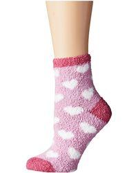 Life Is Good. - Lightweight Heart Snuggle Socks - Lyst