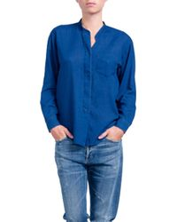 Citizens of Humanity Corinne Shirt In Alibi blue - Lyst