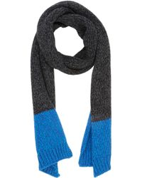 Paul Smith Chunky Knit Scarf - Lyst