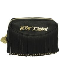 Betsey Johnson - On The Fringe Cosmetic Bag - Lyst