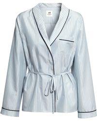 H&M Silk Kimono - Lyst