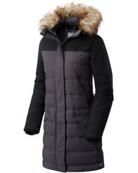 Sorel - Tivoli Long Hooded Down Jacket - Lyst
