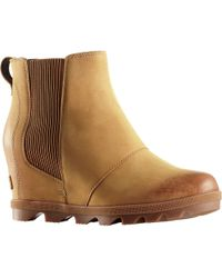 Sorel - Joan Of Arctic Wedge Ii Chelsea Boots - Lyst