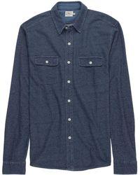 Faherty Brand - Knit Chambray Belmar Shirt - Lyst