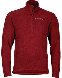 Marmot - Drop Line 1/2-zip Fleece Jacket - Lyst