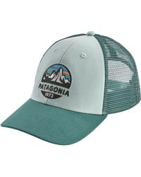 Lyst - Patagonia Basecamp Trucker Hat in Blue for Men 5b29a635a382