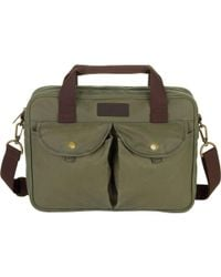 Barbour - Longthorpe Laptop Bag - Lyst