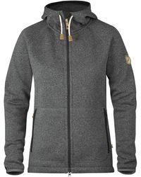 Fjallraven - Ovik Fleece Hooded Jacket - Lyst
