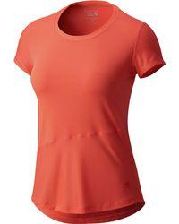 Mountain Hardwear - Wicked Lite Short-sleeve Shirt - Lyst