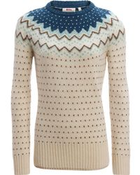 Fjallraven - Ovik Knit Sweater - Lyst