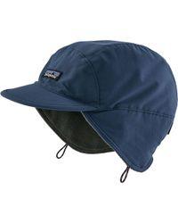 Lyst - Patagonia Duckbill Cap in Blue for Men 58cfcd6da8dc