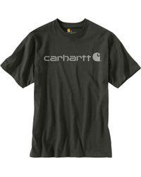 Carhartt - Signature Logo T-shirt - Lyst