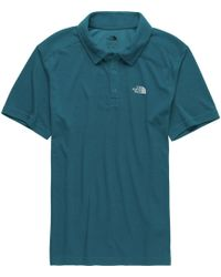 1a88e700 Lyst - The North Face Crag Polo Shirt in Gray for Men