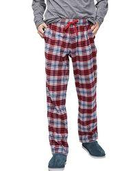 64d8777a2b Grant Woven Sleepwear Set (port grey Heather) Men s Pajama Sets.  95.  Zappos · UGG - Steiner Plaid Sleepwear Set - Lyst