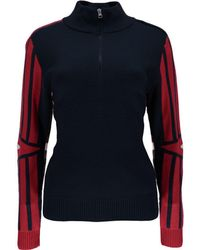 Spyder - Rad Pad 1/2-zip Sweater - Lyst