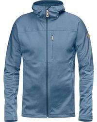 Fjallraven - Abisko Trail Hooded Fleece Jacket - Lyst