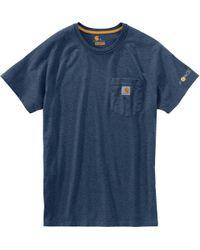 9c11d744e50a Carhartt - Force Cotton Delmont Short-sleeve T-shirt - Lyst