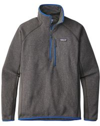 Patagonia - Performance Better Sweater 1/4-zip Fleece Jacket - Lyst