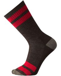 Smartwool | Striped Hike Medium Crew Sock | Lyst