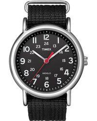 Timex - Weekender Full-size Slip-thru Watch - Lyst