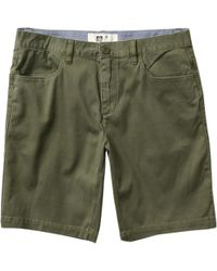 f46824bcc3 Reef Captain Hybrid Short in Black for Men - Lyst