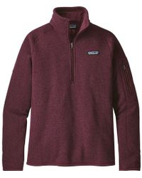 Patagonia - Better Sweater 1/4-zip Fleece Jacket - Lyst