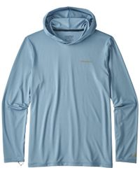 Patagonia - R0 Sun Long-sleeve Hooded Shirt - Lyst