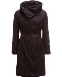 Add - Duck Down Long Synched Waist Coat - Lyst